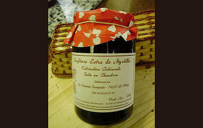 Confiture de Myrtilles (445g)